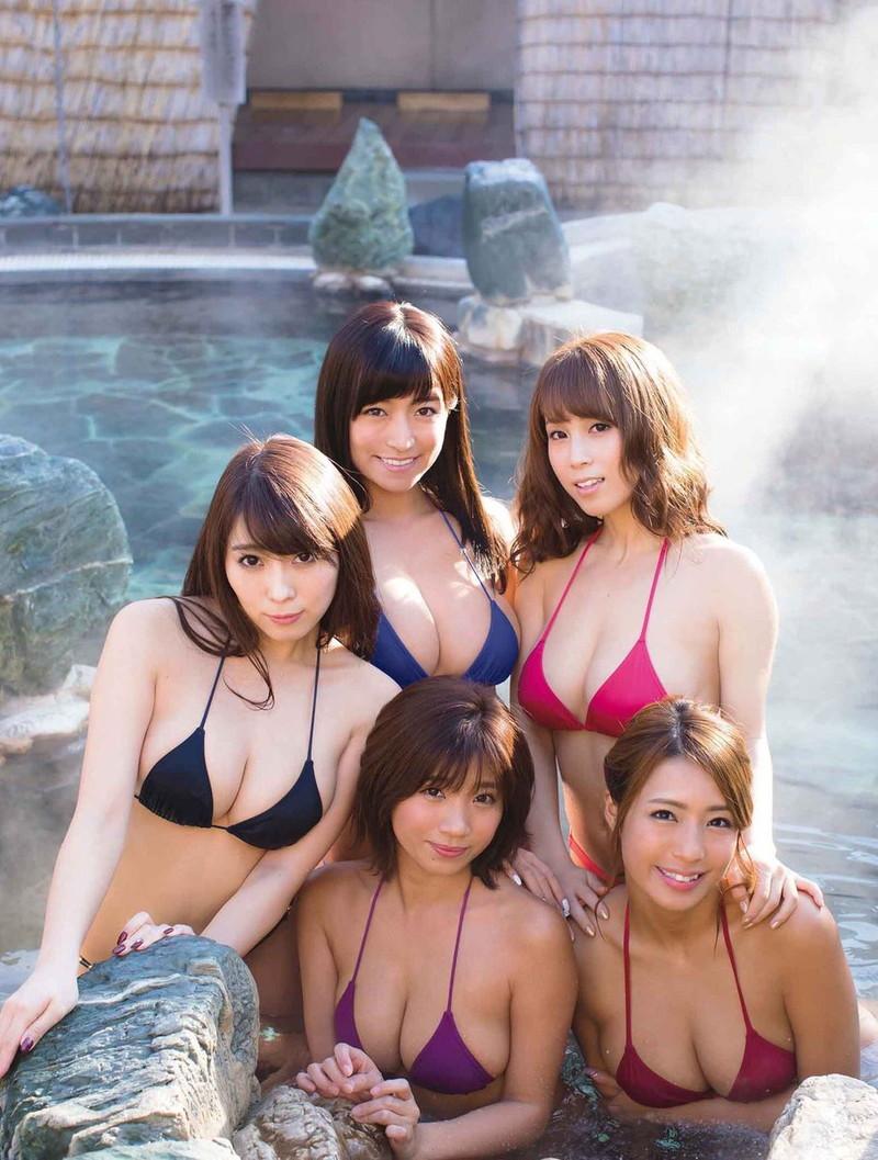 【リップガールズエロ画像】メンバー全員Gカップ以上って巨乳ハーレムじゃん! 13