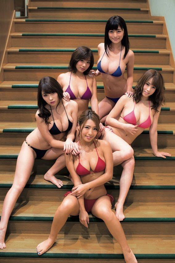 【リップガールズエロ画像】メンバー全員Gカップ以上って巨乳ハーレムじゃん! 15