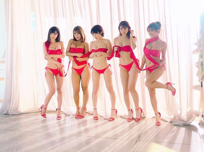 【リップガールズエロ画像】メンバー全員Gカップ以上って巨乳ハーレムじゃん! 20