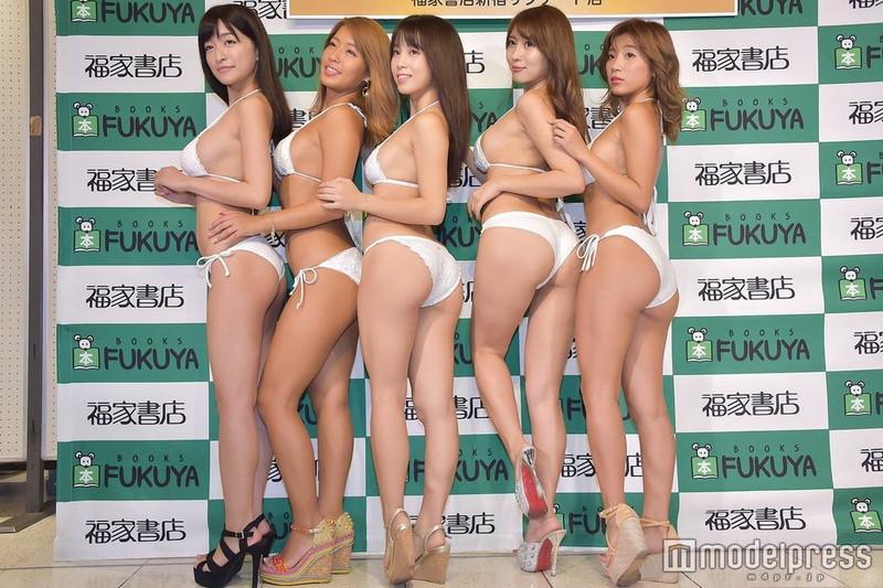 【リップガールズエロ画像】メンバー全員Gカップ以上って巨乳ハーレムじゃん! 58