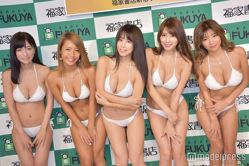 【リップガールズエロ画像】メンバー全員Gカップ以上って巨乳ハーレムじゃん! 64