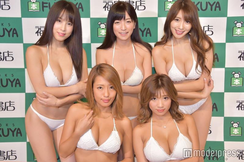 【リップガールズエロ画像】メンバー全員Gカップ以上って巨乳ハーレムじゃん! 67