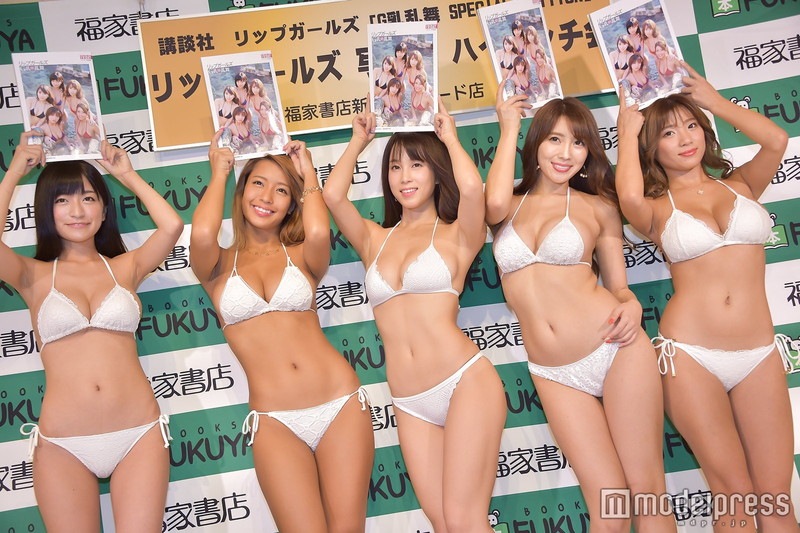 【リップガールズエロ画像】メンバー全員Gカップ以上って巨乳ハーレムじゃん! 68