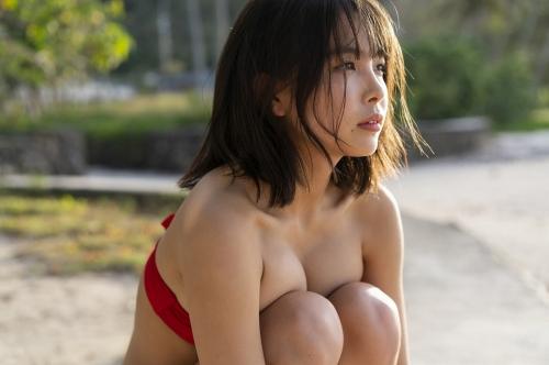 【寺本莉緒キャプ画像】グラビア新人賞を獲って今乗りにノってる巨乳美少女 41