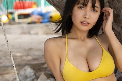 【寺本莉緒キャプ画像】グラビア新人賞を獲って今乗りにノってる巨乳美少女 43