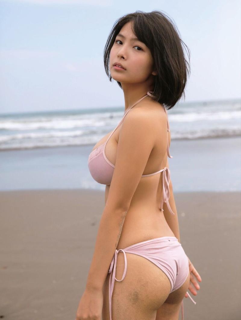 【寺本莉緒キャプ画像】グラビア新人賞を獲って今乗りにノってる巨乳美少女 74