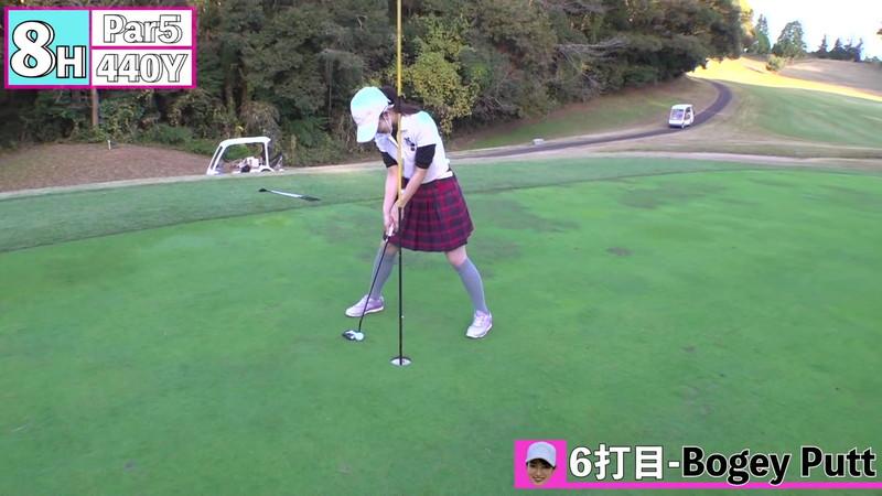 【女子アナキャプ画像】ゴルフでスカートひらひらさせてパンチラ寸前!? 86