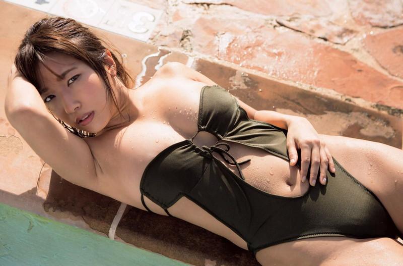 【SKE48エロ画像】メンバーの可愛くてちょっとセクシーな水着姿