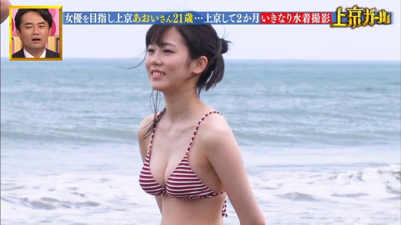 【川口葵キャプ画像】女優を夢見て上京したらビキニグラビアを撮ってたwwww 22