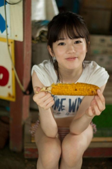 【川口葵キャプ画像】女優を夢見て上京したらビキニグラビアを撮ってたwwww 60