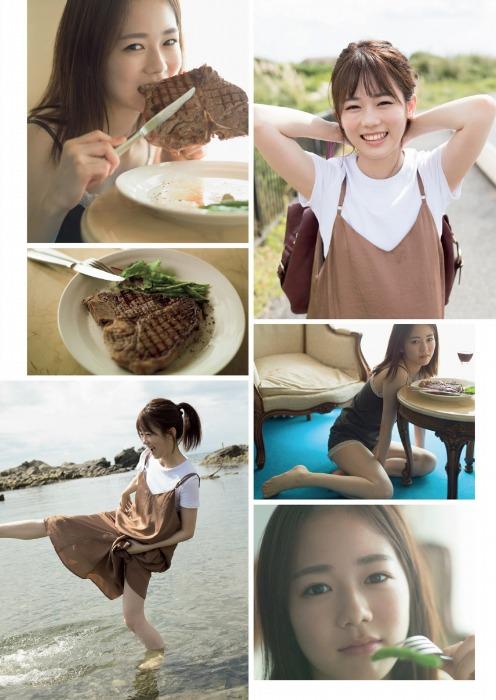 【川口葵キャプ画像】女優を夢見て上京したらビキニグラビアを撮ってたwwww 74