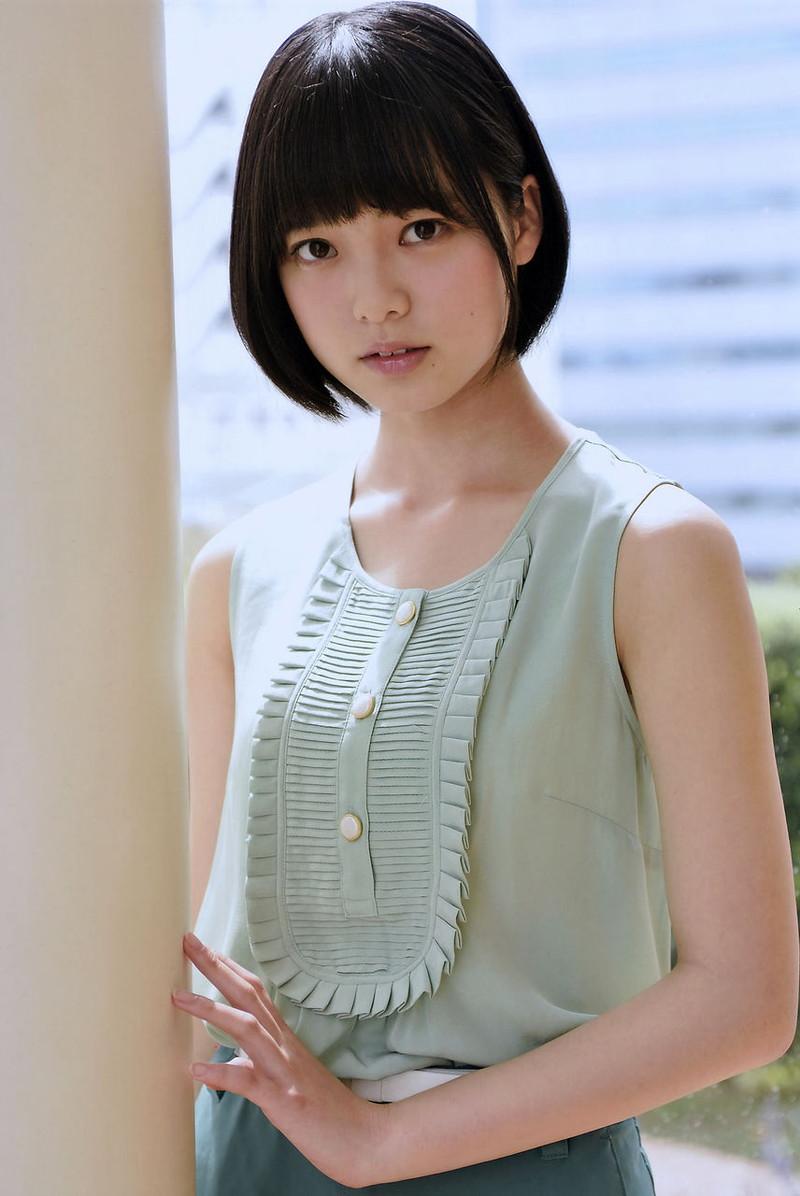 【平手友梨奈グラビア画像】ショートヘアが似合って可愛い元欅坂46アイドル 14