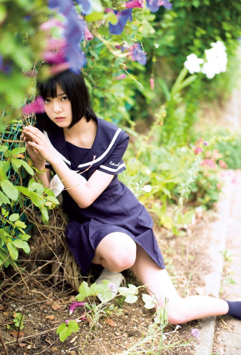 【平手友梨奈グラビア画像】ショートヘアが似合って可愛い元欅坂46アイドル 15