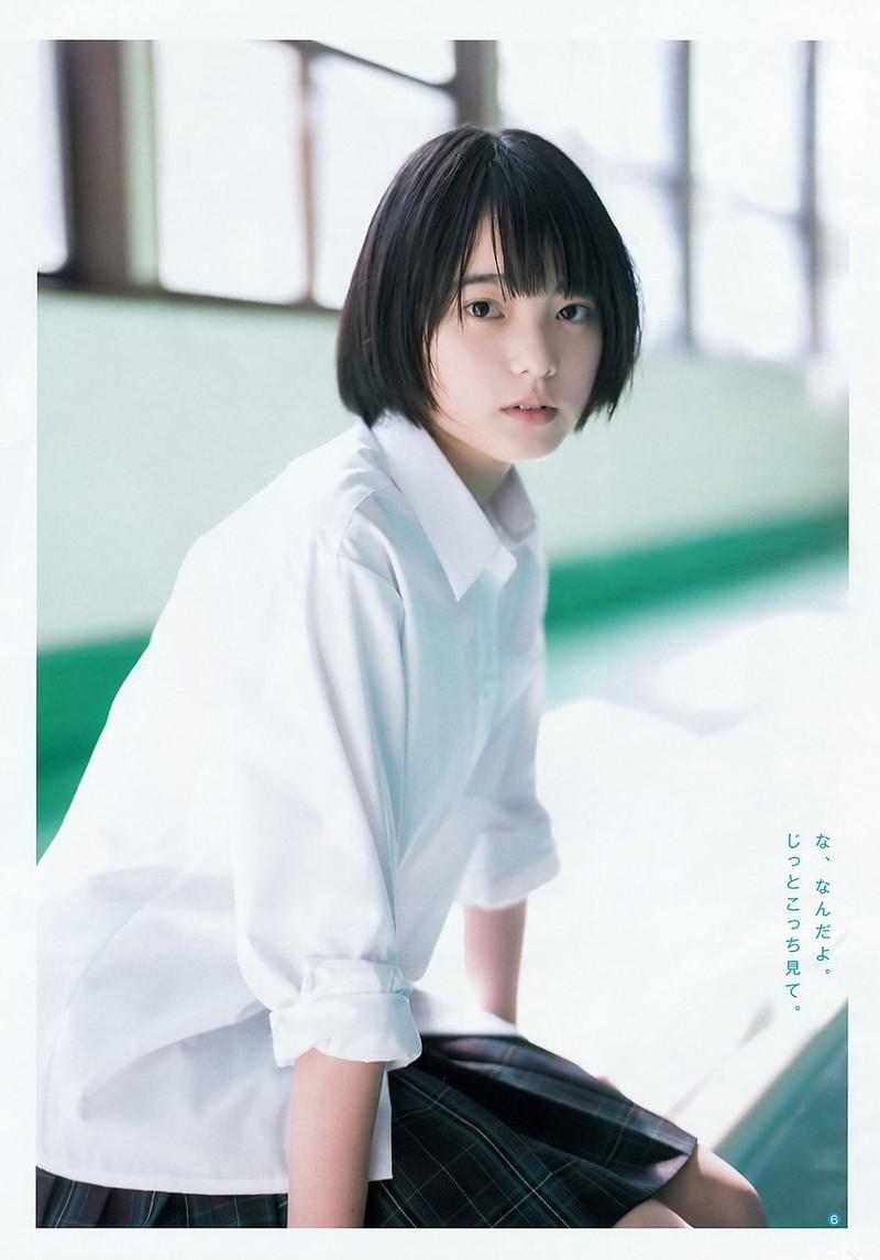 【平手友梨奈グラビア画像】ショートヘアが似合って可愛い元欅坂46アイドル 20