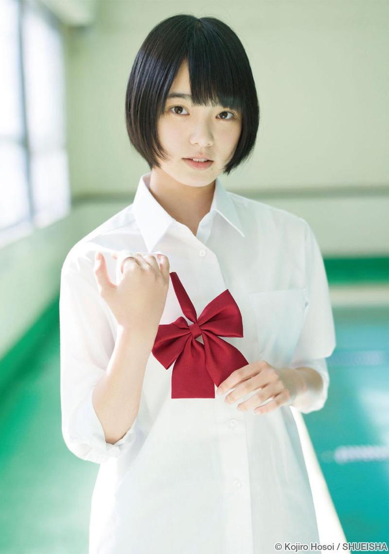 【平手友梨奈グラビア画像】ショートヘアが似合って可愛い元欅坂46アイドル 24