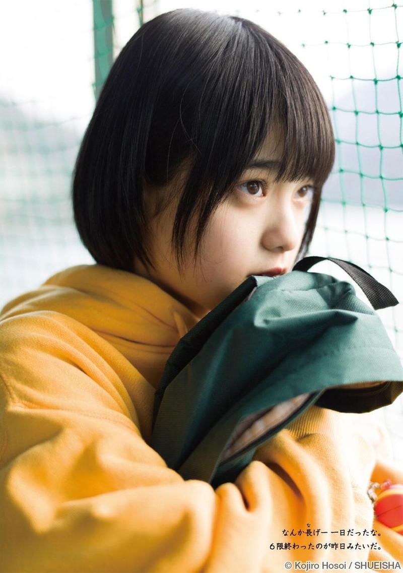 【平手友梨奈グラビア画像】ショートヘアが似合って可愛い元欅坂46アイドル 27