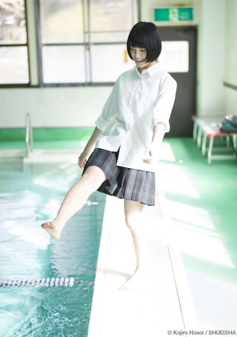 【平手友梨奈グラビア画像】ショートヘアが似合って可愛い元欅坂46アイドル 28