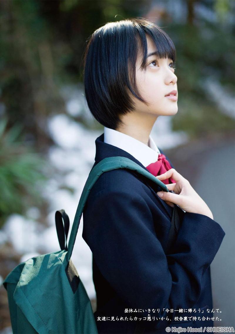 【平手友梨奈グラビア画像】ショートヘアが似合って可愛い元欅坂46アイドル 31