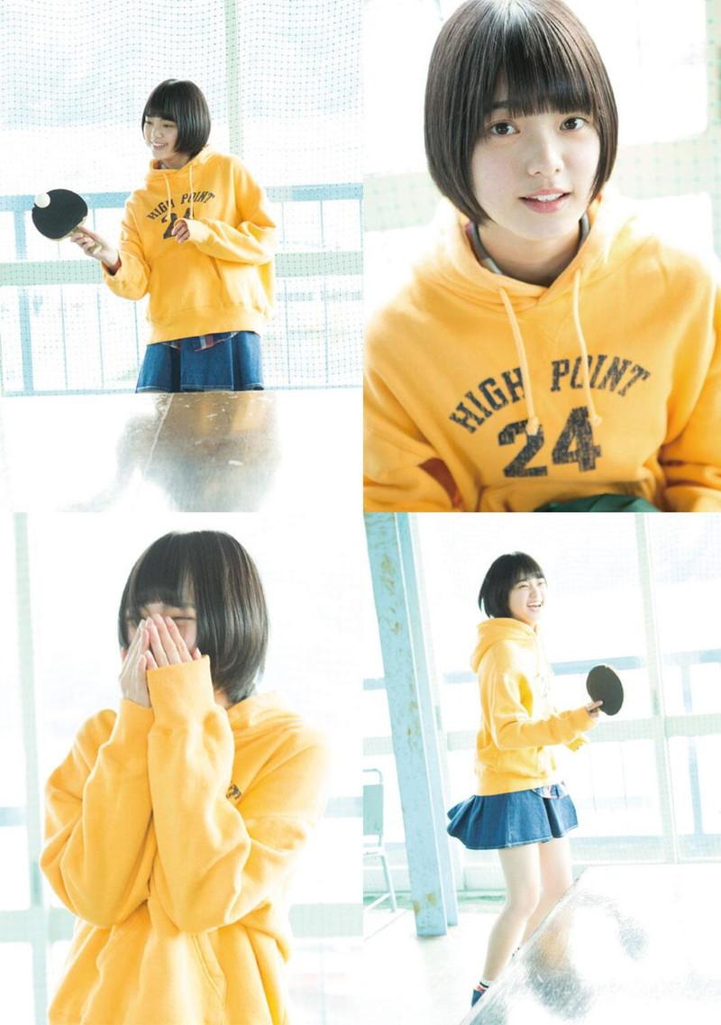 【平手友梨奈グラビア画像】ショートヘアが似合って可愛い元欅坂46アイドル 32