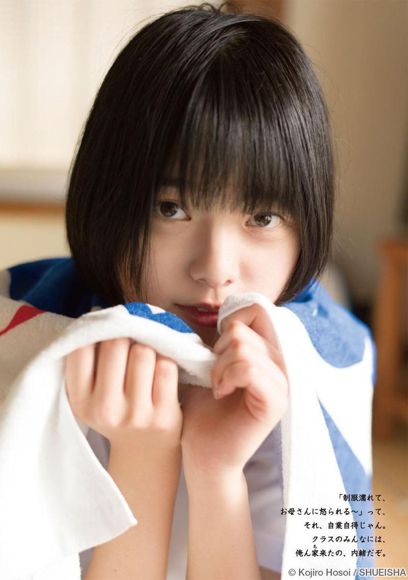 【平手友梨奈グラビア画像】ショートヘアが似合って可愛い元欅坂46アイドル 35