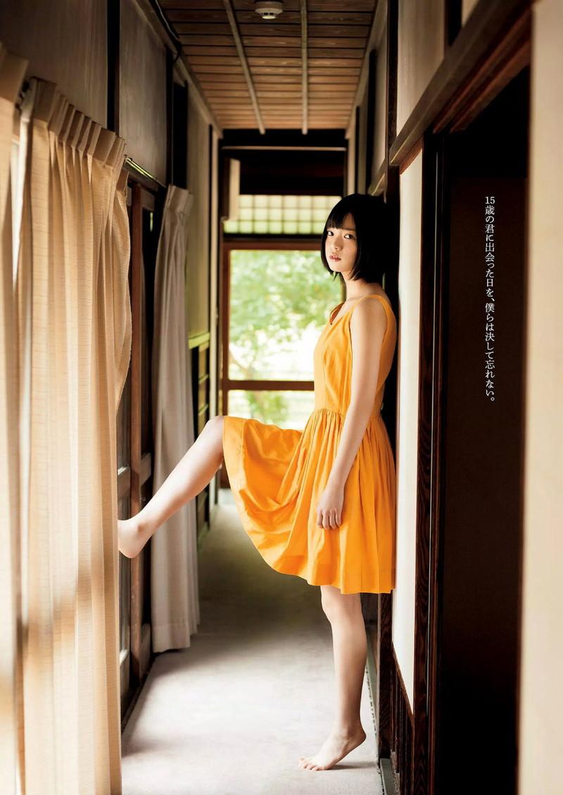 【平手友梨奈グラビア画像】ショートヘアが似合って可愛い元欅坂46アイドル 45