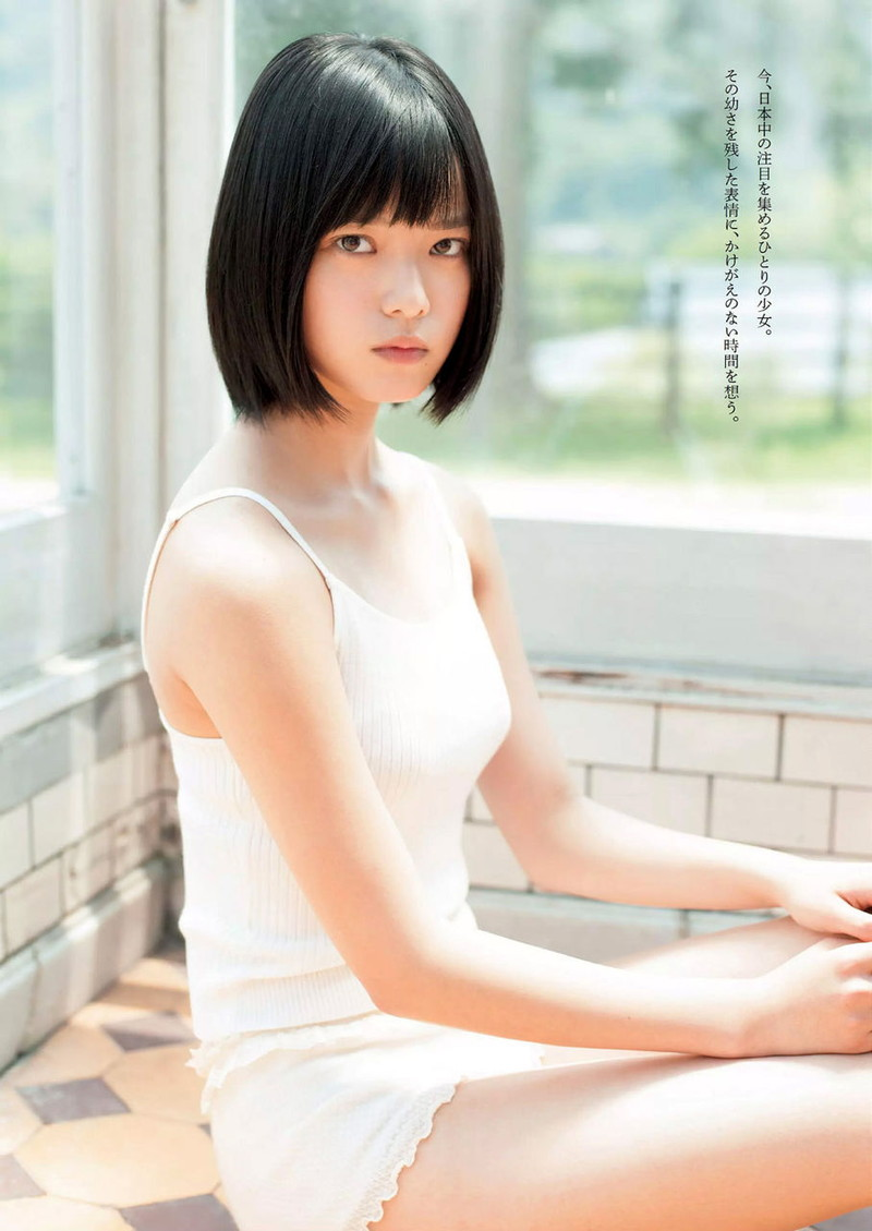 【平手友梨奈グラビア画像】ショートヘアが似合って可愛い元欅坂46アイドル 54