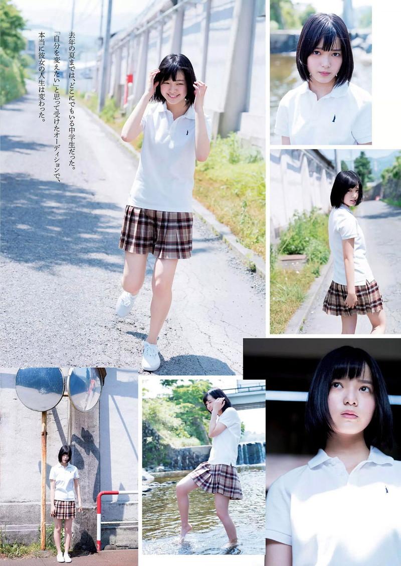【平手友梨奈グラビア画像】ショートヘアが似合って可愛い元欅坂46アイドル 55