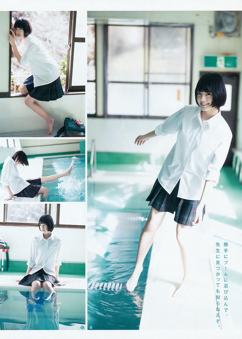 【平手友梨奈グラビア画像】ショートヘアが似合って可愛い元欅坂46アイドル 58