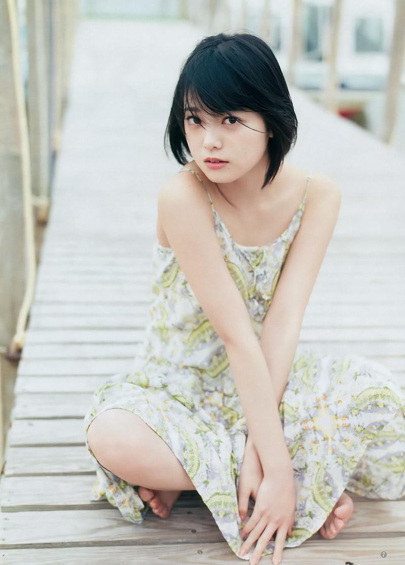 【平手友梨奈グラビア画像】ショートヘアが似合って可愛い元欅坂46アイドル 60