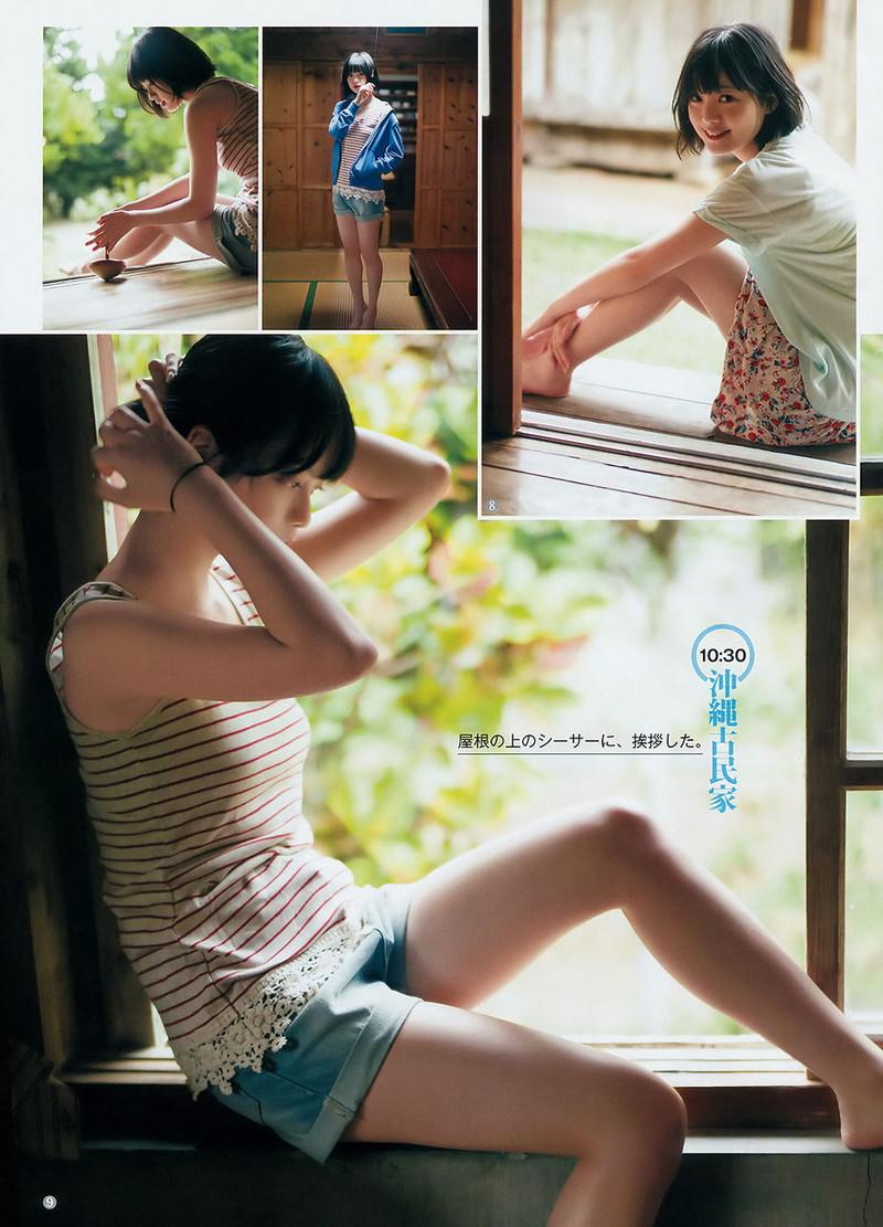 【平手友梨奈グラビア画像】ショートヘアが似合って可愛い元欅坂46アイドル 62