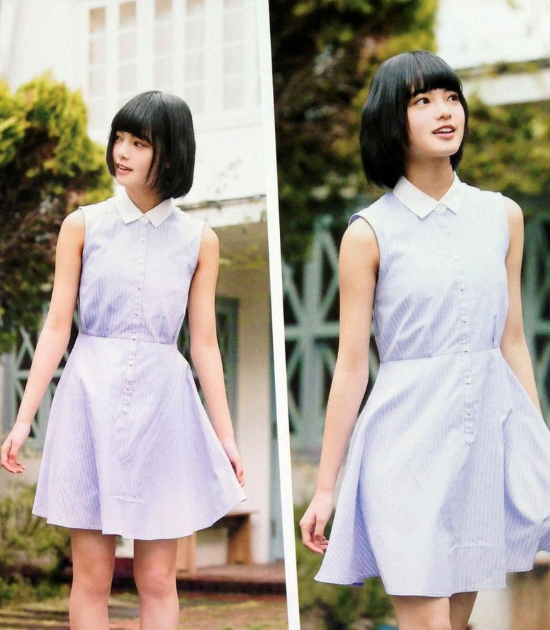 【平手友梨奈グラビア画像】ショートヘアが似合って可愛い元欅坂46アイドル 63