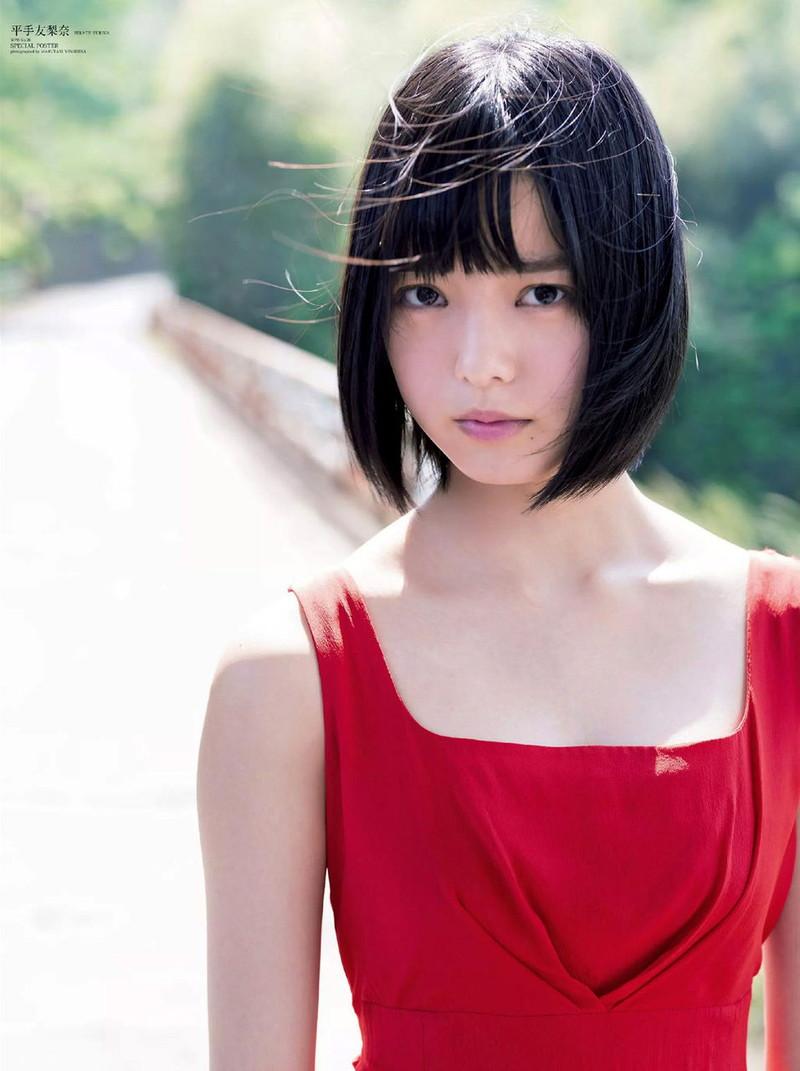 【平手友梨奈グラビア画像】ショートヘアが似合って可愛い元欅坂46アイドル 65