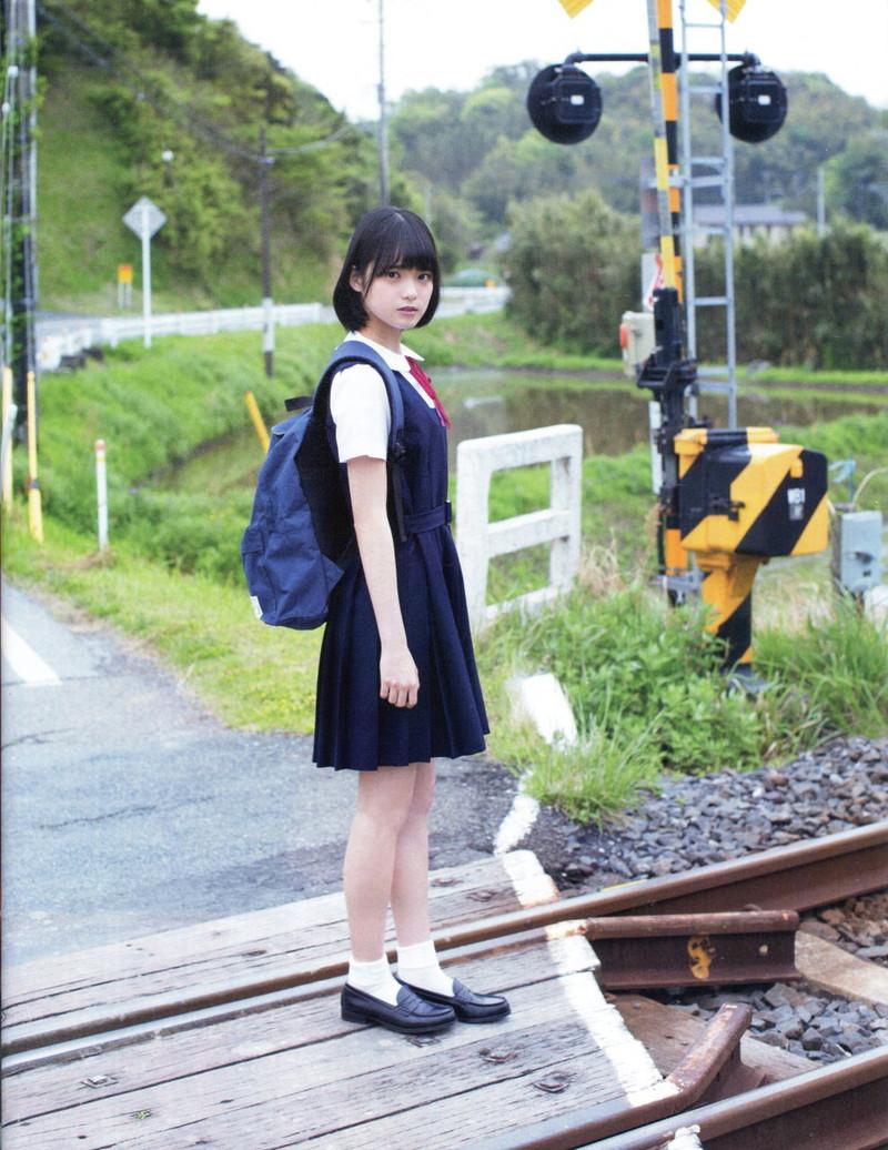 【平手友梨奈グラビア画像】ショートヘアが似合って可愛い元欅坂46アイドル 74