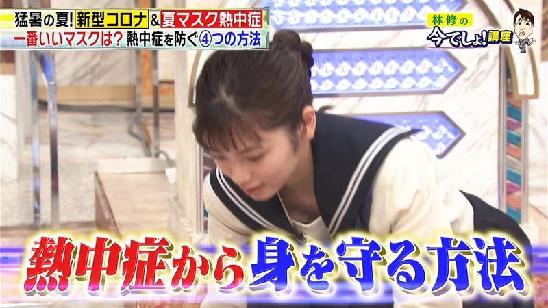 【小芝風花キャプ画像】可愛すぎる女優の魅力満載なテレビ出演シーン