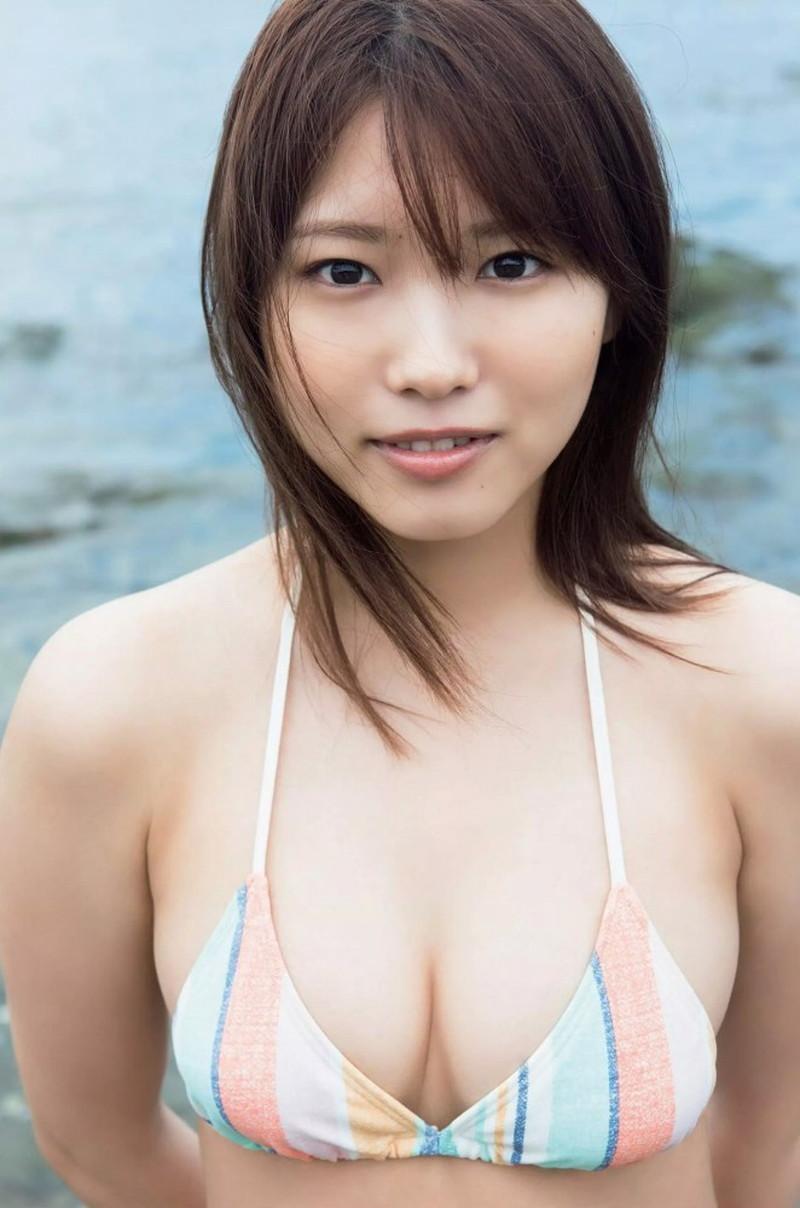 【古田愛理グラビア画像】アイドルから女優へ転身した美少女JKの水着写真 06