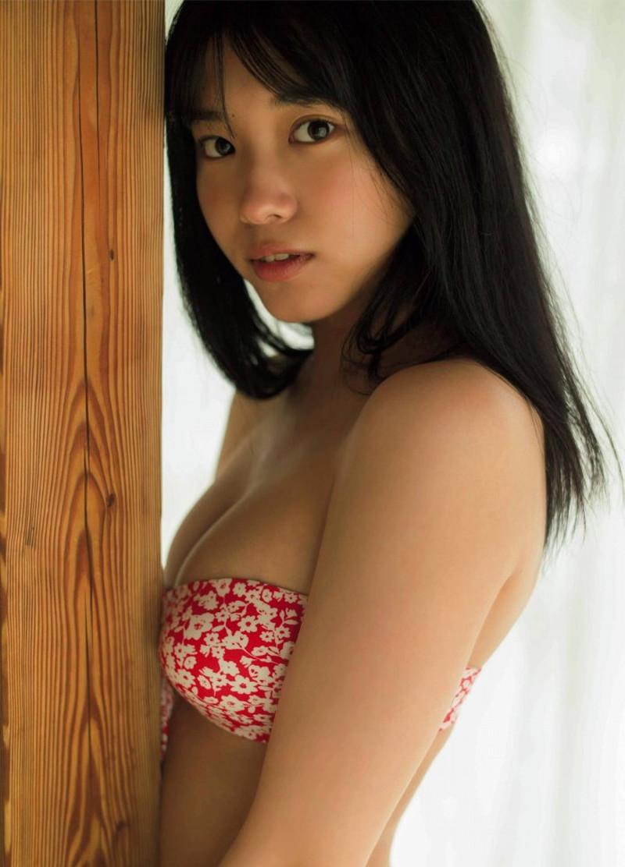 【古田愛理グラビア画像】アイドルから女優へ転身した美少女JKの水着写真 08