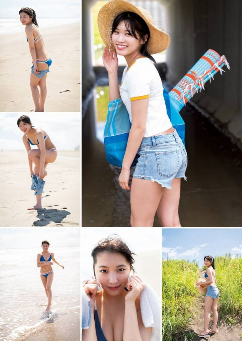 【古田愛理グラビア画像】アイドルから女優へ転身した美少女JKの水着写真 52