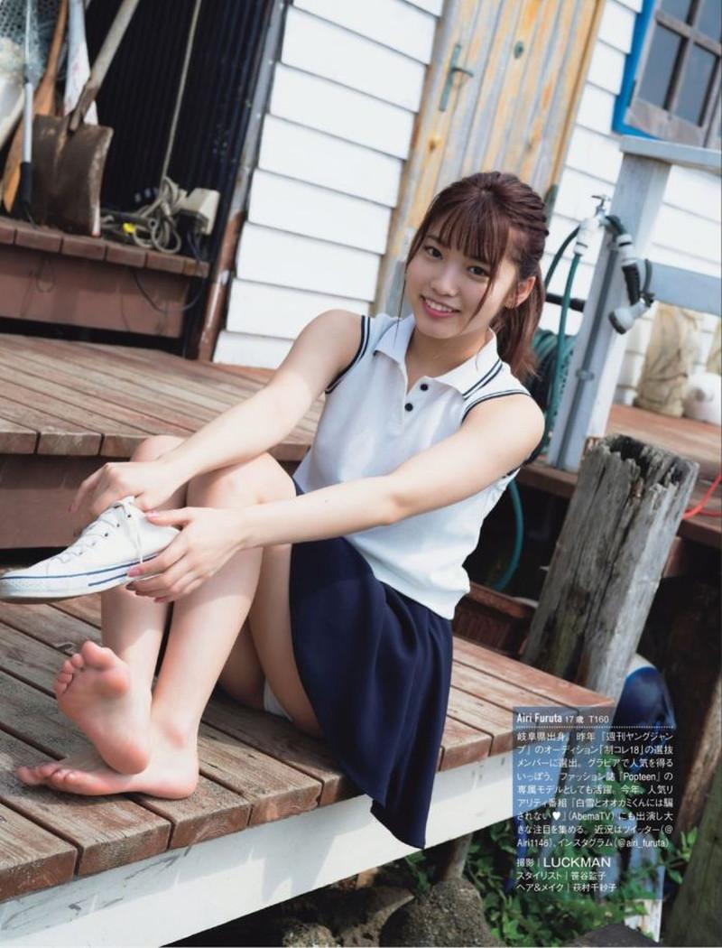 【古田愛理グラビア画像】アイドルから女優へ転身した美少女JKの水着写真 53
