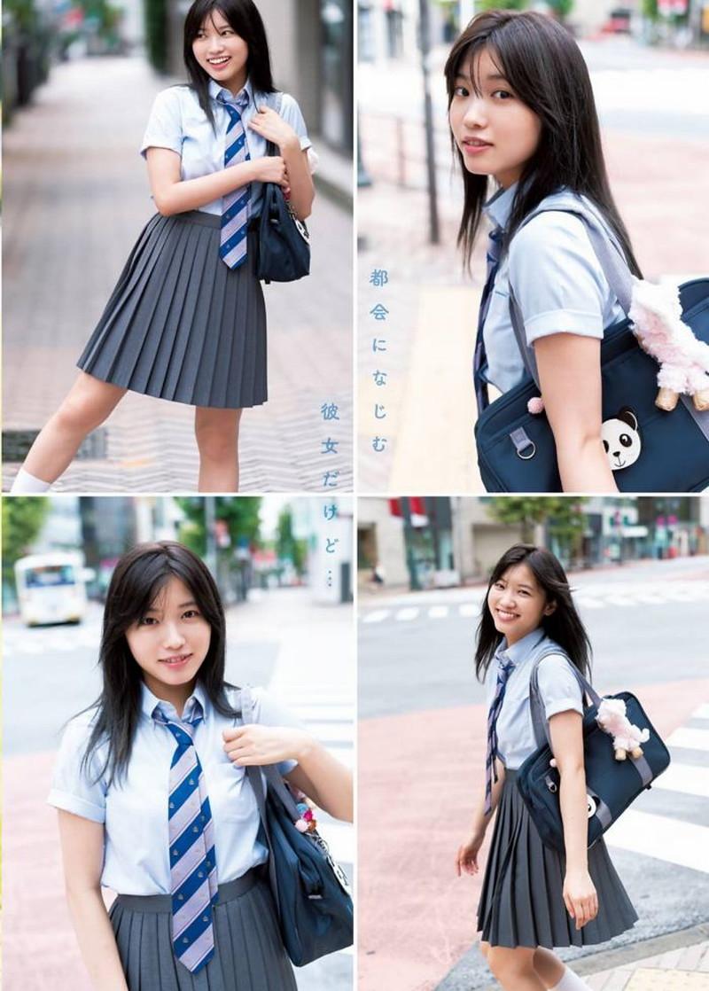 【古田愛理グラビア画像】アイドルから女優へ転身した美少女JKの水着写真 57