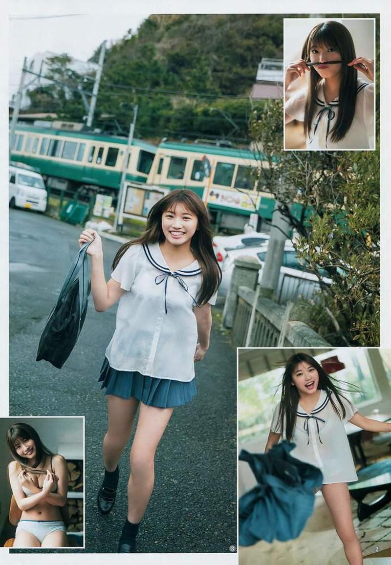 【古田愛理グラビア画像】アイドルから女優へ転身した美少女JKの水着写真 73