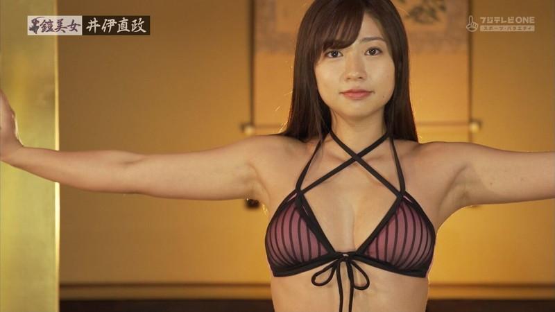【大貫彩香キャプ画像】美乳美尻のスタイル抜群ボディを鎧美女で魅せる 18