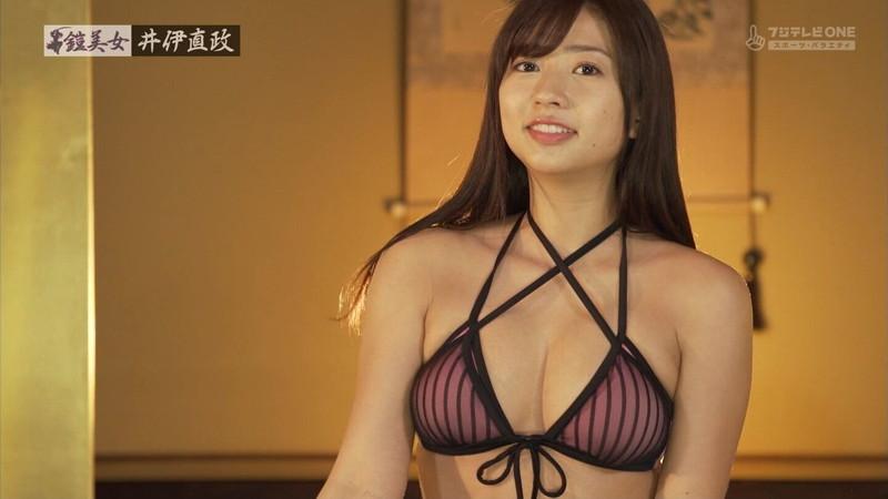 【大貫彩香キャプ画像】美乳美尻のスタイル抜群ボディを鎧美女で魅せる 19