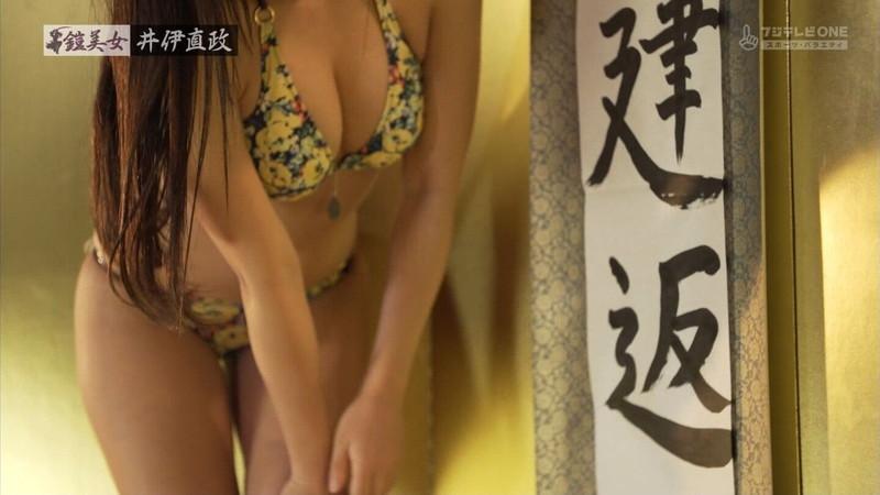 【大貫彩香キャプ画像】美乳美尻のスタイル抜群ボディを鎧美女で魅せる 32