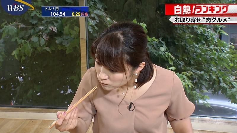 【女子アナキャプ画像】食レポしてるだけなのに何故かエロいんだよなぁw 07