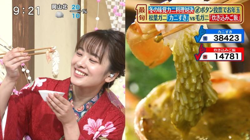 【女子アナキャプ画像】食レポしてるだけなのに何故かエロいんだよなぁw 10