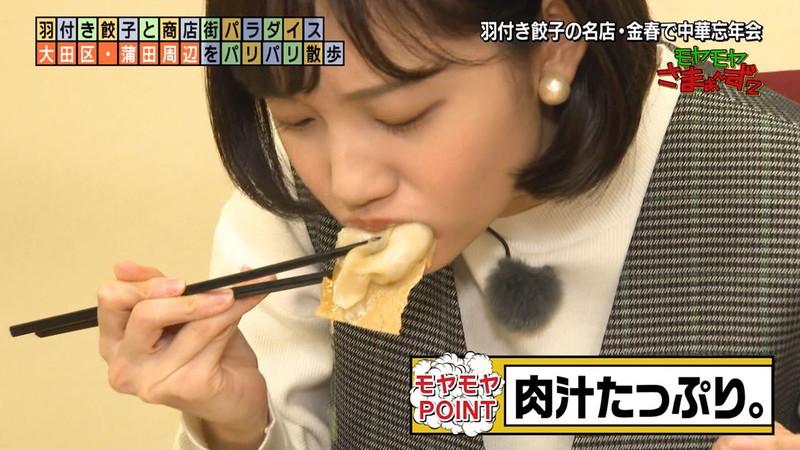 【女子アナキャプ画像】食レポしてるだけなのに何故かエロいんだよなぁw 38