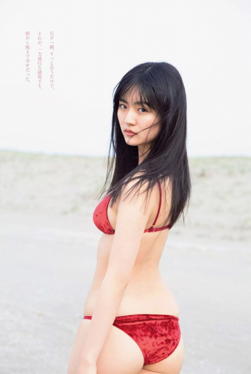 【豊田ルナグラビア画像】二次元的なボディラインが魅力の美少女グラドル 25