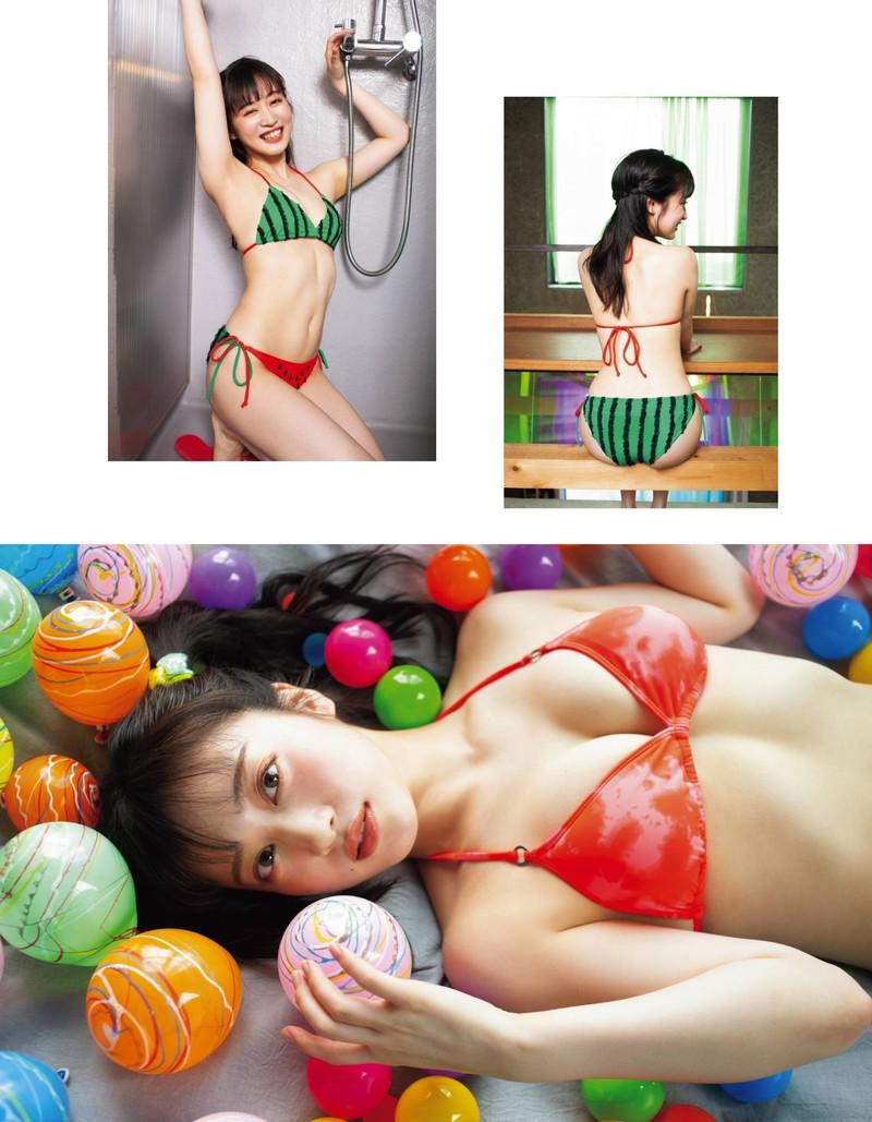【川上千尋グラビア画像】ストレートの黒髪ロングがキレイなスタイル抜群美少女 38