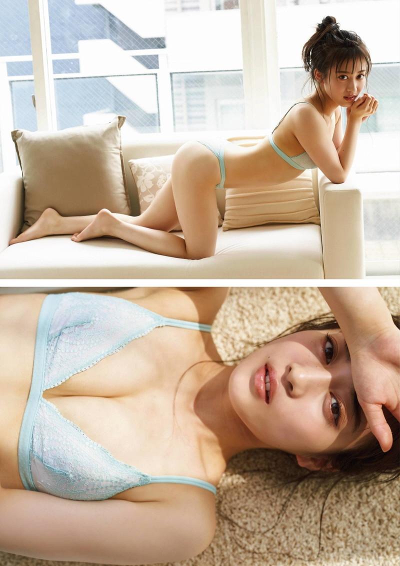 【川上千尋グラビア画像】ストレートの黒髪ロングがキレイなスタイル抜群美少女 47
