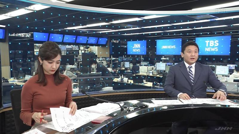 【田村真子キャプ画像】TBS女子アナウンサーのニット越しおっぱい! 08